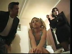 Blond Babysitter Fucked By Husband And Wife