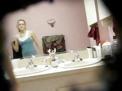 Super Cute Teen Naked In The Bathroom On Hidden Cam
