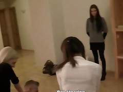 Slim Teen Babe Ass Fucked In Bathroom