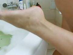 In The Bathroom Is Best Masturbation