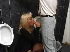 Gabriella Fucking With A Stranger In Public Bathroom
