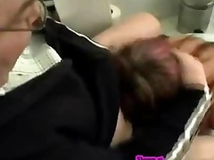 Giving Head In Bathroom