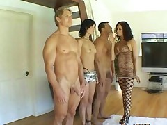 The Randy Foursome Of Horny Porn Stars