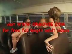 School Bus Girls 03