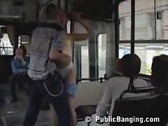 Public Bus Fuck