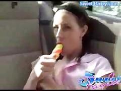 Teen Softcore Car Masturbate