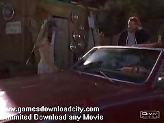 Sexy Girl Fucked On The Car