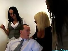 Cfnm Slutty Babes Dominate Guy