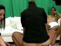 Horny Cfnm Slut Gets Hot