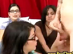 Cfnm Jury Girl Gives Blowjob