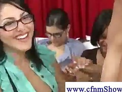 Cfnm Lady Wants Some Cum On Her Boobs
