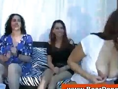 Cfnm Loving Housewives Suck Strippers
