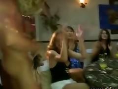 Cfnm Stripper Has His Cock Sucked By Girl Next Door Babes