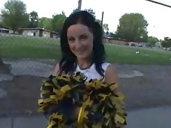 Cheerleader Wants Ice Cream