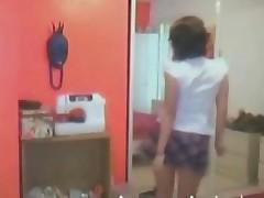 Emo Schoolgirl Gf Strip