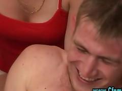 Cfnm Sluts Get Naughty With Femdom Guy