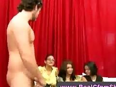 Cfnm Femdom Babes Mock Naked Guy