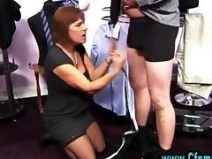 Cfnm Femdom Girl Cock Play