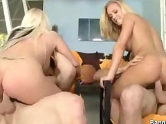 Foursome With Nicole Aniston And Angel Vain