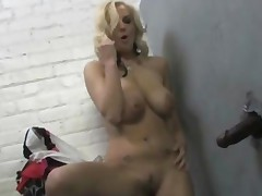Haley Cummings At A Gloryhole