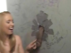 Ami Emerson Visiting A Gloryhole For The First Time