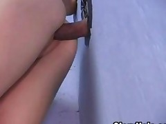 Aralyn Barra Visiting A Gloryhole For The First Time
