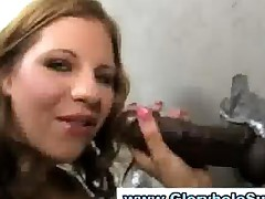 Gloryhole Blowjob Interracial