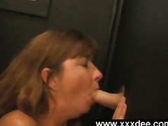 Mature Gloryhole Oral