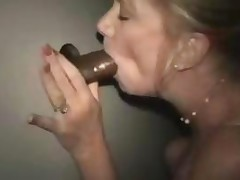 Gloryhole Blowjob That Ends With A Dripping Creampie