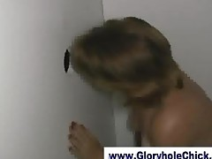 Gloryhole Slut Sucking And Gucking