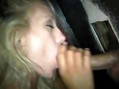 Lacey Swallows At The Gloryhole