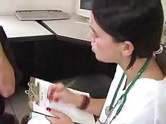 Doctor Gives A Handjob