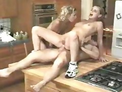 18 Years Old First Anal Kitchen