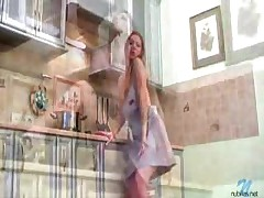 Pussy Rubbing In Kitchen
