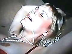 Red Leather Mini Pt 2 Great Cumshot On Amature Teen Wife
