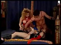 Lack And Leather Groupsex Part 1