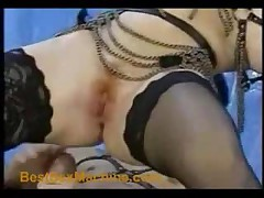 Lack And Leather Anal Sex Part 2