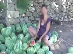 Outdoor Melon Masturbation Nudist Giselda