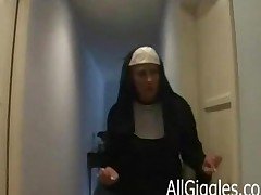 Mature Interracial Nun