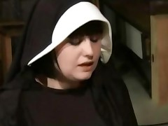 Lesbian Nun Dominated And Spanked