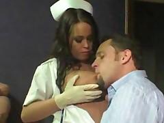 Hot Nurse Blowjob
