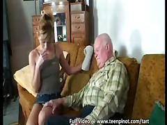 Senior Bangs A Teen Nurse