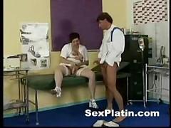 Fucking Sexy Brunette Nurse