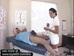 Slutty Nurse Presley Rides Cock Because Boyfriends Cock..