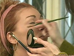 Horny redhead chick gets hammered