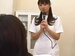 Misato Kuninaka Gyno Nurse Exam