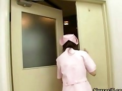 Japanese Nurse Collecting Sperm