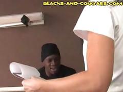 Cougar Nurse Interracial