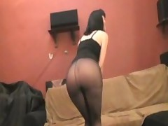 Dolly Analfucked In Ripped Pantyhose