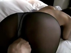 Busty Office Lady Hole On Pantyhose Stimulated And Fucked..